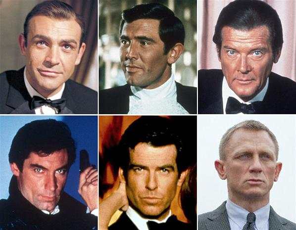 Worst To First Ranking The James Bond Actors Lebeau S Le Blog