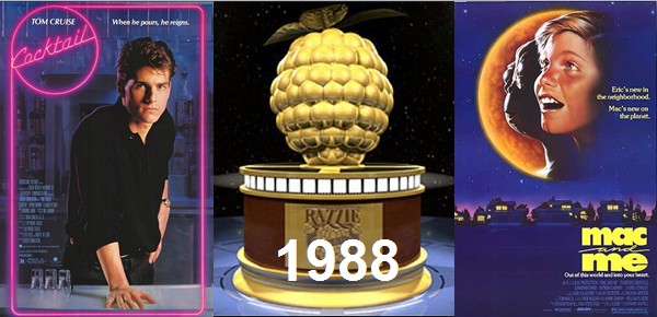 Golden Raspberry Awards: 1998 - Lebeaus Le Blog